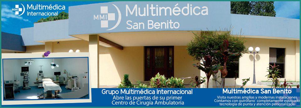Conoce Multimedica San Benito
